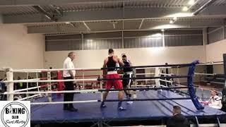 Demies Finales Régionales Boxe Anglaise Amateurs Occitanie Est - Samy Aouaichia