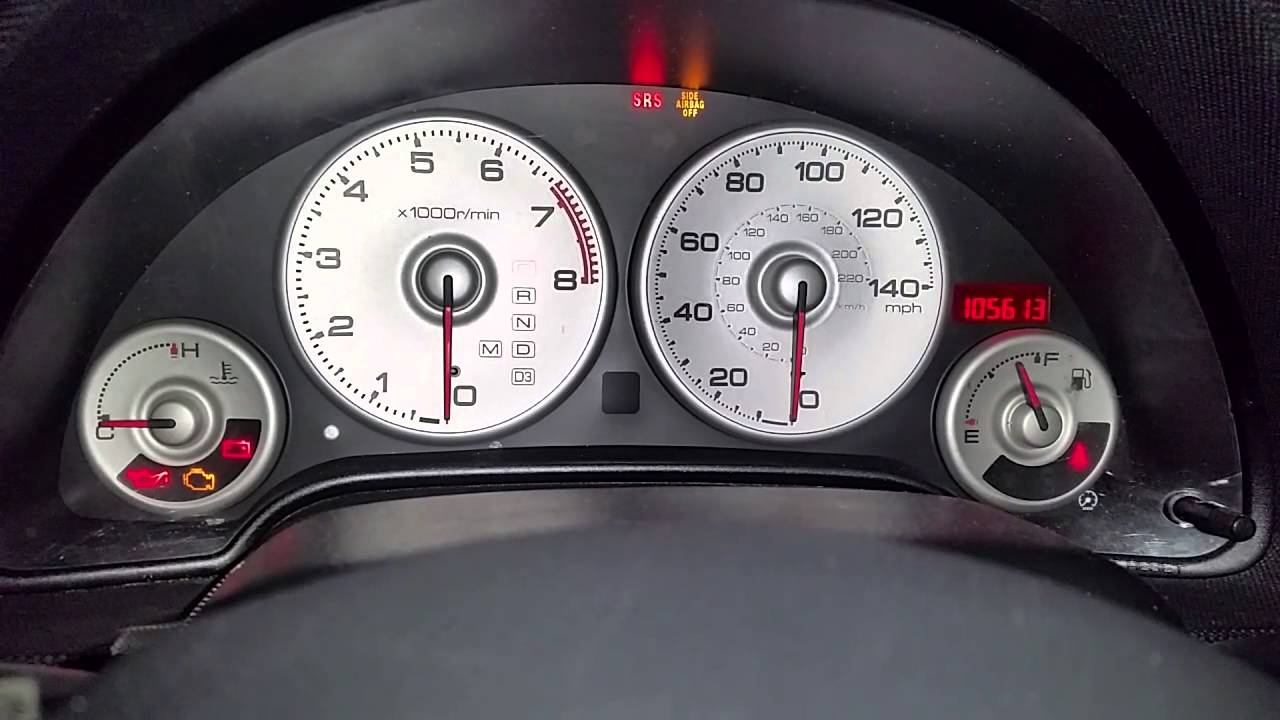 2004 Acura Rsx Type S >> Acura rsx cluster problem need help !!! - YouTube