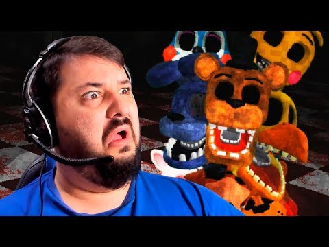 MAS O QUE É ISSO?! FIVE NIGHTS AT FREDDY'S COM SPOOKY JUMPSCARE MANSION!