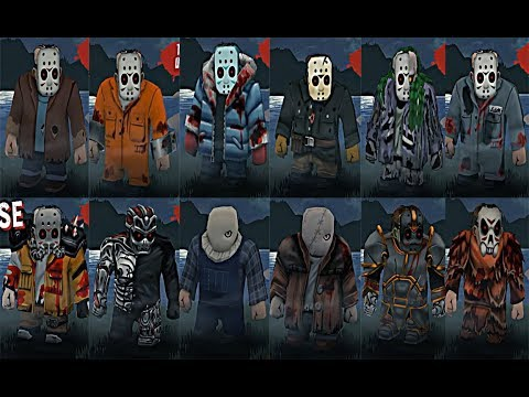 Friday The 13th Killer Puzzle Jason Outfits