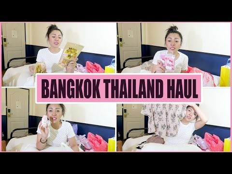 THAILAND SHOPPING HAUL (Sephora, Platinum, Siam Paragon, and more!) | Gen-zelTV