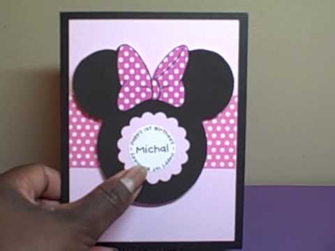 minnie mouse 1st birthday invitations youtube