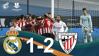 RESUMEN | Real Madrid CF 1 - 2 Athletic Club | Semifinales de la Supercopa de España