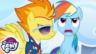 My Little Pony en español  Academia Wonderbolt | La Magia de la Amistad | Episodio Completo