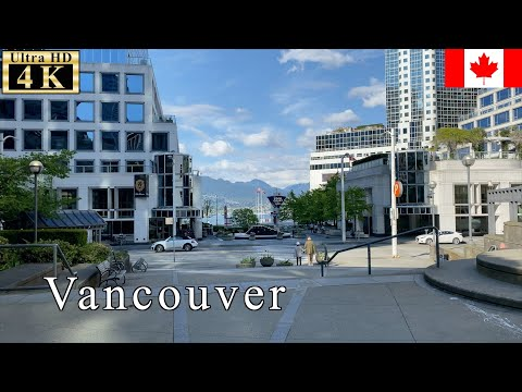 🇨🇦【May 5th】Port Of Vancouver At Quarantine - Vancouver Spring Walk -【4K 60fps】