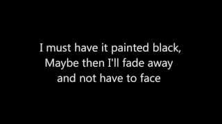 Gob - Paint It Black (Rolling Stones Punk Cover w/Lyrics)