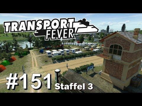 Transport Fever S3/#151: Unser Campingplatz ist fertig! [Let's Play][Gameplay][German][Deutsch]