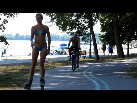 Inline Skaters Get Off The Trails - By City Skater Bill Stoppard