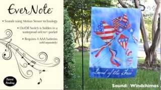 Evernote™ Garden Flag - 14EN2965 Patriotic Kites Thumbnail