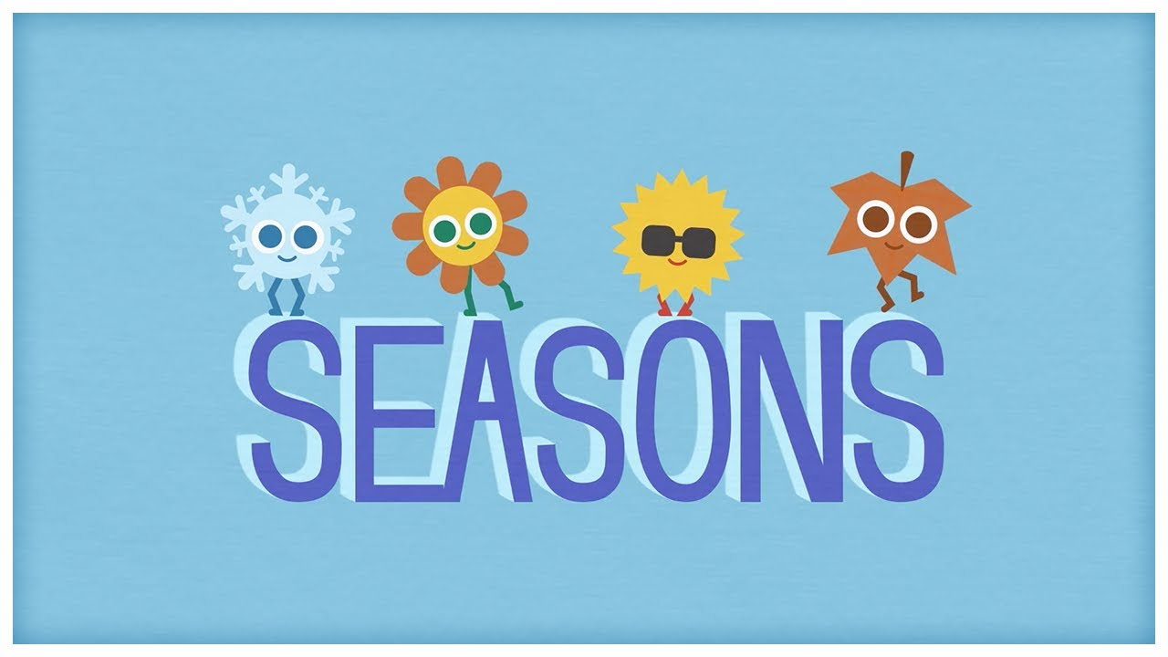 time four seasons the seasons of the year by storybots youtube
