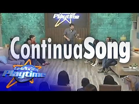 Celebrity Playtime: Continua Song