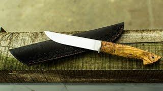 DSKnives. Виготовлення простого ножа на подарунок.