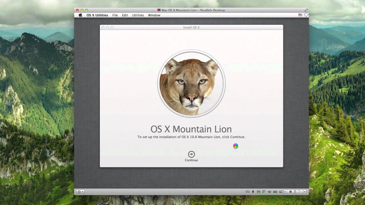 How To Install Mac OS X Mountain Lion With Parallels Desktop 7