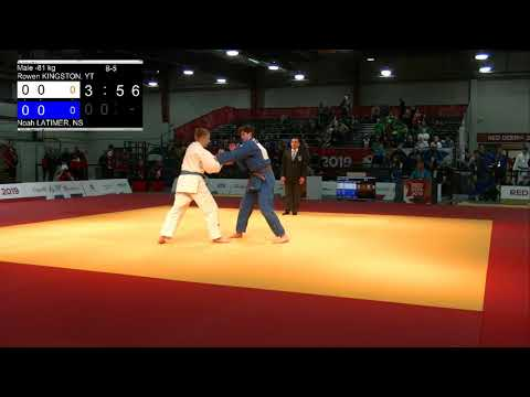 2019 CWG - Judo - Mat 2