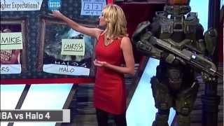 Charissa Thompson Black Tights 11 01 12 HD
