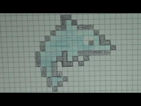 Comment Dessiner Un Dauphin Pixel Art Youtube