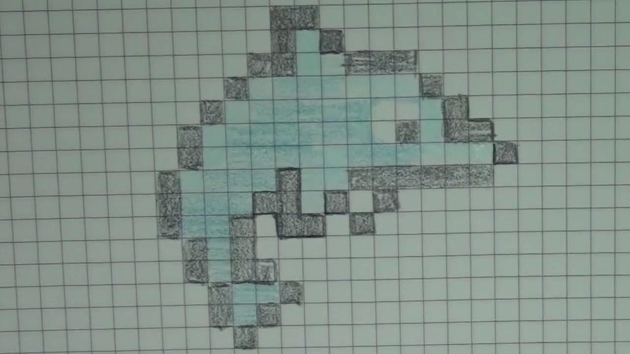 Comment Dessiner Un Dauphin Pixel Art
