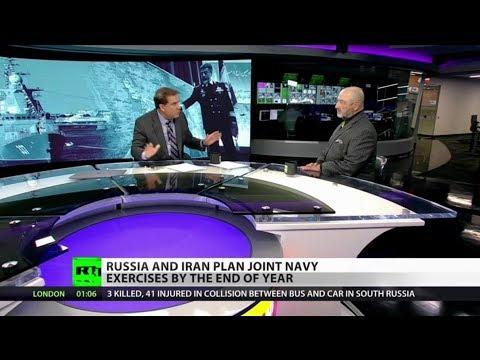 Breaking: Russian Navy heading toward Persian Gulf (full show)