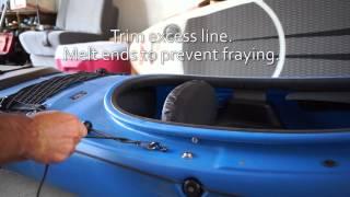 Prijon Rudder Install