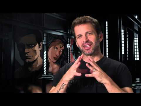 Batman V Superman Director Behind The Scenes Interview - Zack Snyder