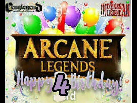 Hack: Arcane Legends - Birthaday Event [2016] .