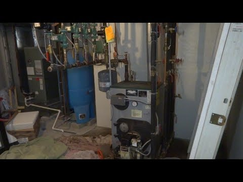 oil boiler with multiple issues fixed