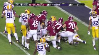 Alabama vs. LSU 2014 (As called by Eli Gold)
