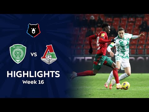 Akhmat Grozny Lokomotiv Moscow Goals And Highlights