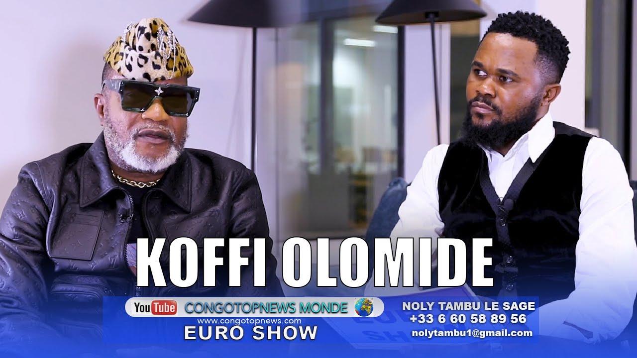 Download KOFFI OLOMIDE déterminer comme jamais Face à NOLY TAMBU, Prêt à mourir pour le Concert de sa Vie
