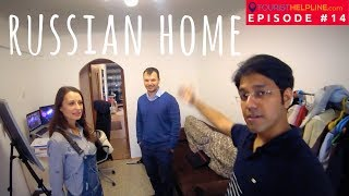 RUSSIAN APARTMENT TOUR : A must watch before Couchsurfing in Russia