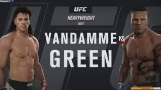Такой угар в UFC 2 вам больше никто не покажет :-) Смотреть обязательно! Ван Дамм vs Green