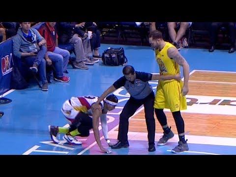 Kelly Williams THROWS Arwind Santos To The Floor (VIDEO)