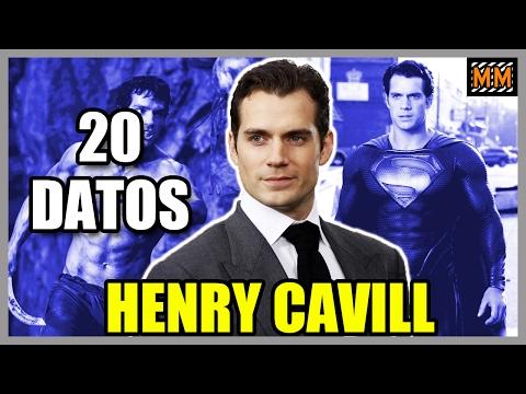 "20 Curiosidades sobre ""HENRY CAVILL"" - (Superman) (Justice League) - |Master Movies|"