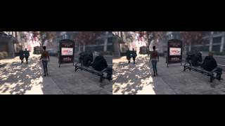 Watch Dogs First Person PC Mod - 3D Crossview