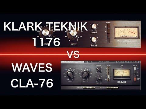 Klark Teknik 1176 vs Waves CLA-76 | Hardware vs Plugin