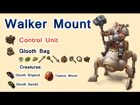 Tibia: Walker Mount - Control Unit - Oramond