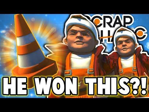 Scrap Mechanic - REACH FOR THE CONE CHALLENGE!! W/AshDubh & Speedy - [#62] | Gameplay