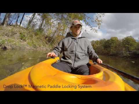 Drop Lock Magnetic Paddle Locking System (Remix#1)