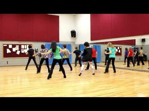 American Kids - Line Dance (Dance & Teach in English & 中文)