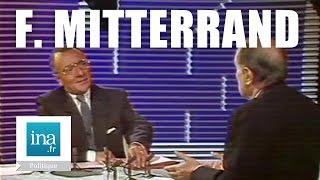 François Mitterrand face à Yves Mourousi - Archive vidéo INA