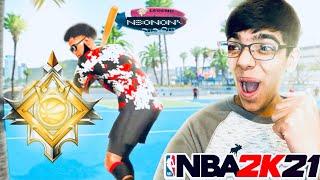 Ronnie2k Son Hits LEGEND On NBA 2K21 (Legend Reaction)