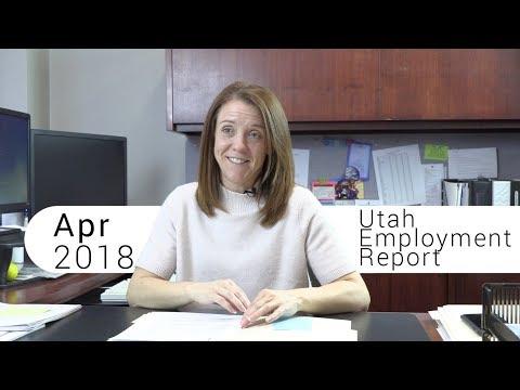 Utah Employment Report April 2018