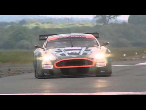 Top Gear Aston Martin Dbr9 Power Lap Youtube