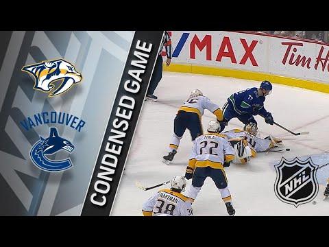 03/02/18 Condensed Game: Predators @ Canucks