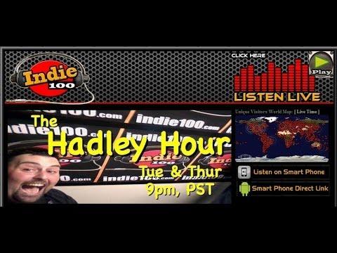 DJ Cooter on Indie100 Radio - Burbank, CA