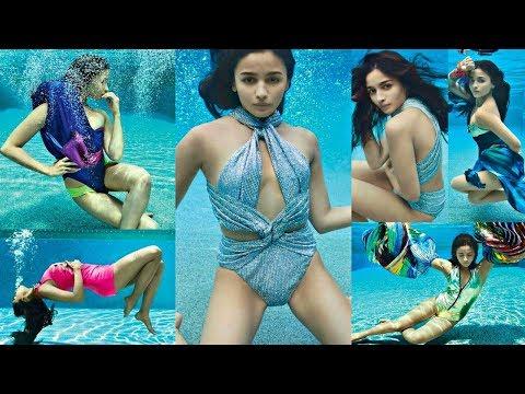 Alia Bhatt Underwater Bikini Photoshoot 2019 Mp3
