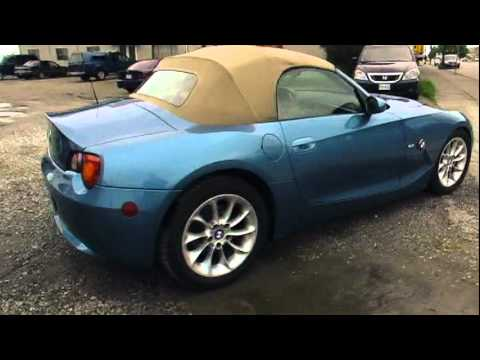 2003 bmw z4 2 5 convertible youtube. Black Bedroom Furniture Sets. Home Design Ideas