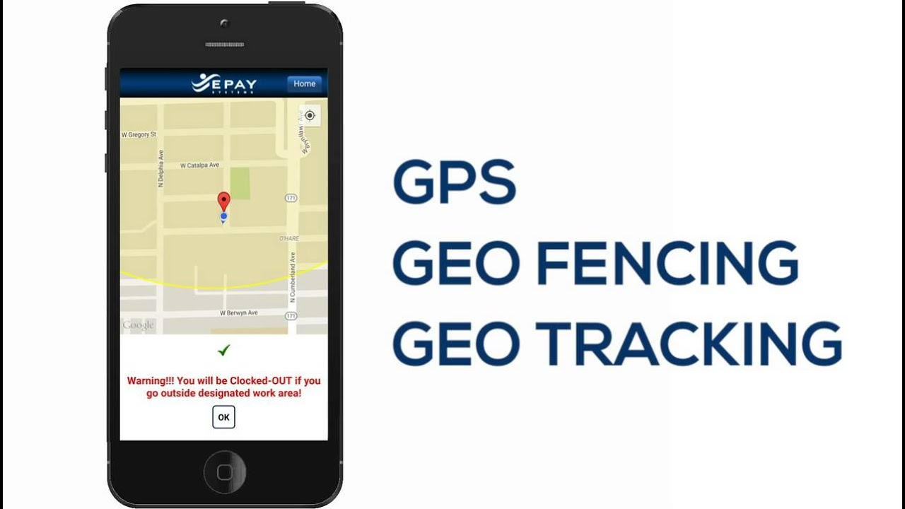 Mobile Time & Attendance App with GPS Punch | EPAY Systems