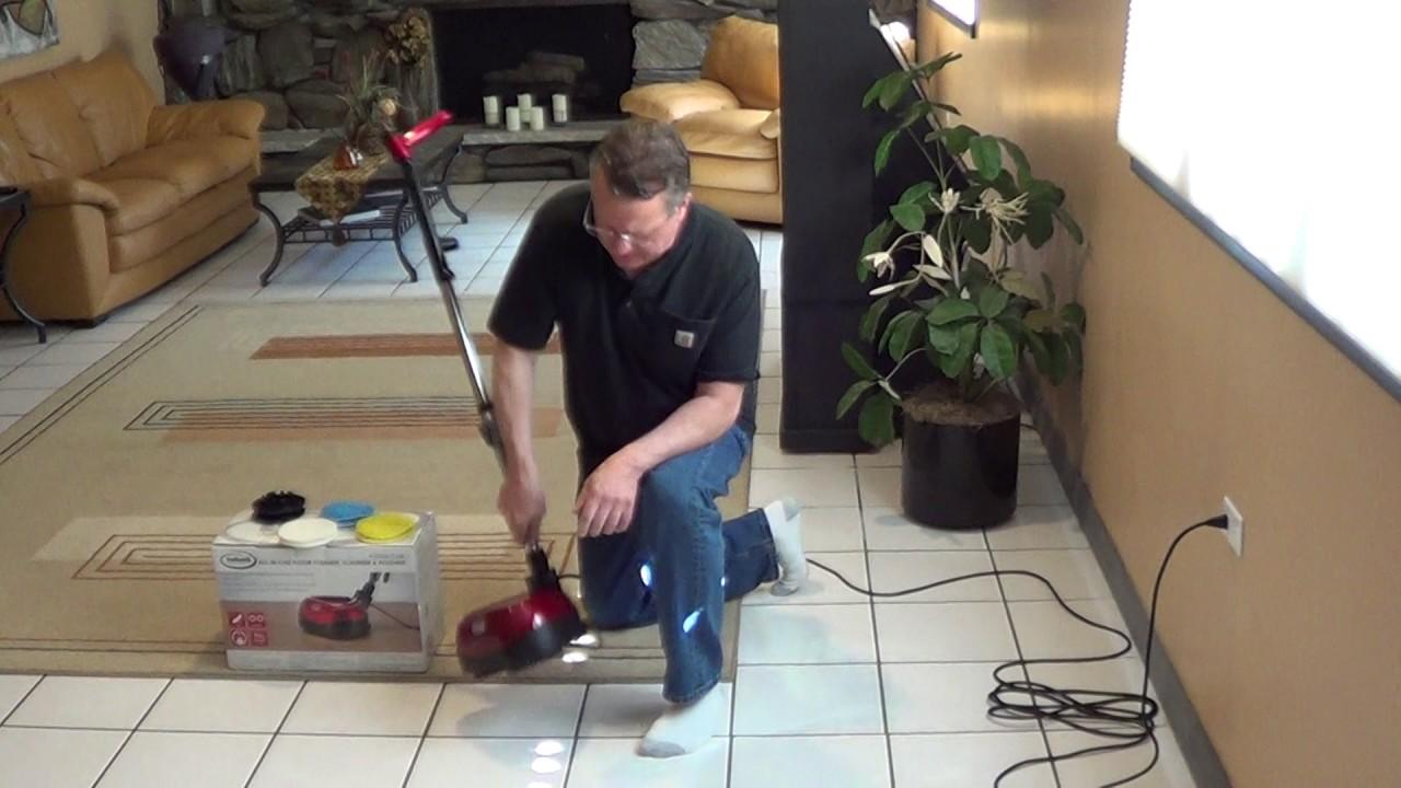 Floor Scrubber Ewbank Youtube