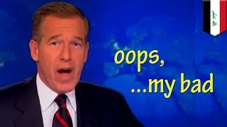 News anchor fail: Brian Williams apologizes for lying about his helicopter being shot in Iraq